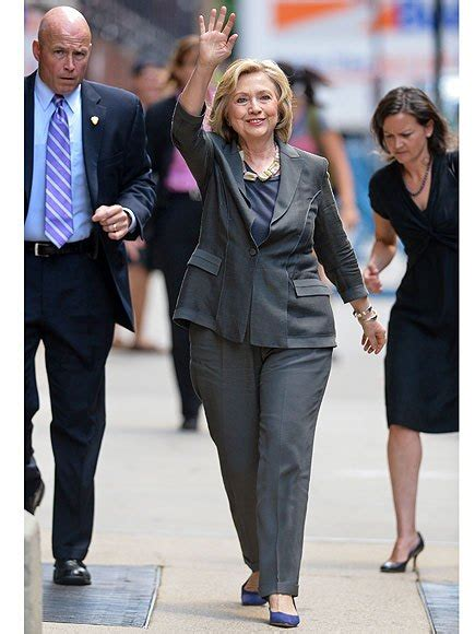 hillary clintons short bob cropped and stuled hillary clinton cracks the presidential dress code