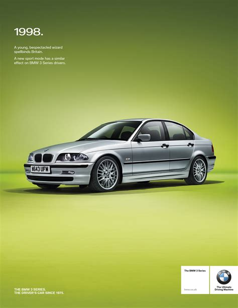bmw advertisement retro press advertisement for a bmw 3 series caign