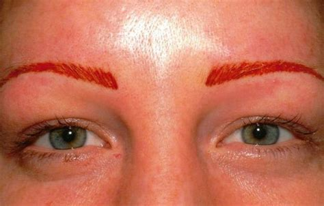 how are tattoos permanent permanent eyebrow tattooing for would you do it