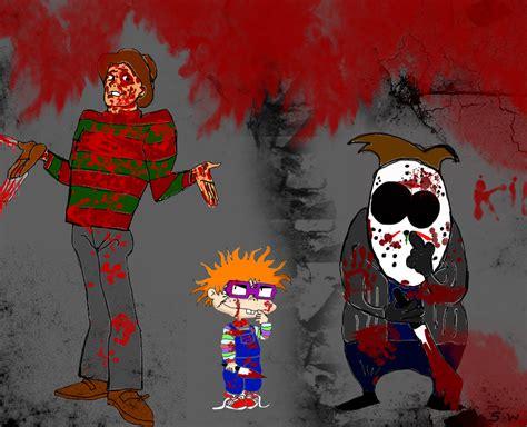 film cartoon horror horror cartoon characters by valashard on deviantart