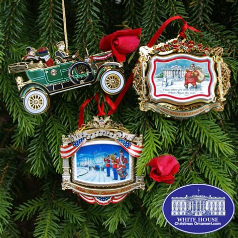 2010 2012 white house ornament gift set