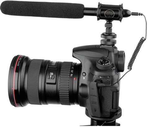 best external microphone for dslr and cameras on shotgun microphones a to z b h explora