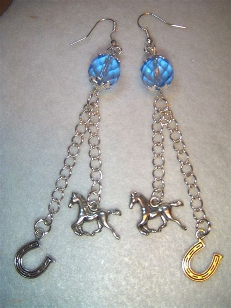 Equestrian Silver Dangle P 271 80 best images about funky quarters ebay on swarovski crystals lobster clasp and