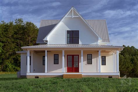 large gable roof house plan farmhouse house plans with farmhouse with metal roof custom home built by north