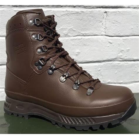special forces boots hanwag special forces lx boots mod brown