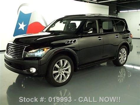 find new 2012 infiniti orange is the new black season 2 release find used 2012 infiniti qx56 4x4 deluxe touring sunroof