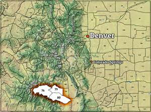 colorado unit map deer and elk outfitter creede colorado san luis
