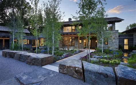 house reflecting the surrounding environment in washington freshome com picturesque wood stone residence inspiring a serene way