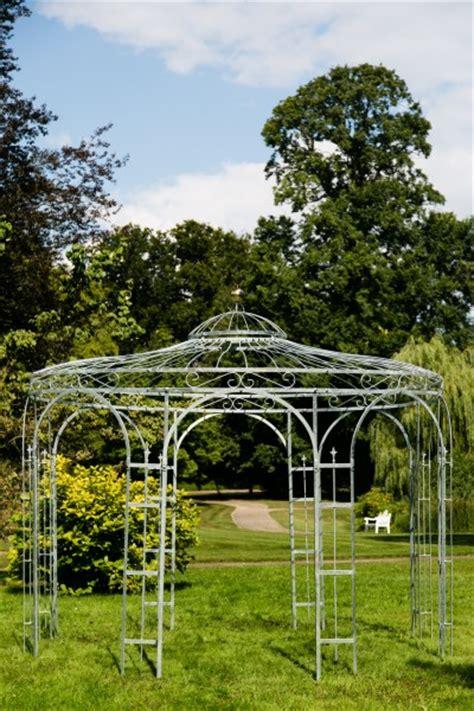 pavillon verzinkt gartenpavillon metall verzinkt 216 250cm eleganz
