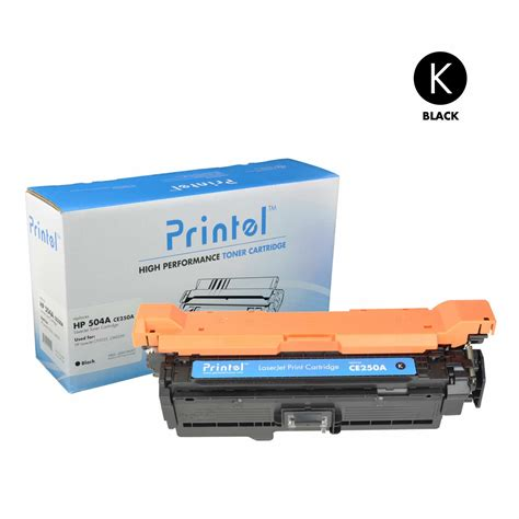 Chip Toner Cartridge Hp Ce250a Black printel 174 brand new replacement toner cartridge for hp 504a ce250a black price 45 99