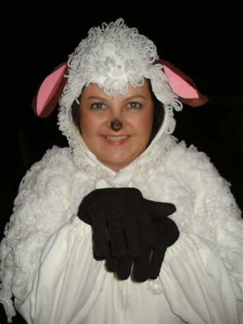 Handmade Sheep Costume - sheep costume car interior design