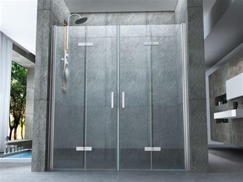 porte doccia a libro porta doccia in cristallo con doppia porta a libro quot libro
