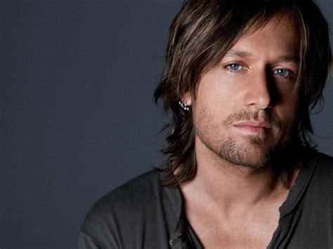 singer keith urban long hairstyle for round face men singer keith urban long