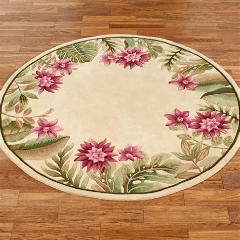 tropical accent rugs tropical accent rugs paradise haven tropical haven floral round rugs