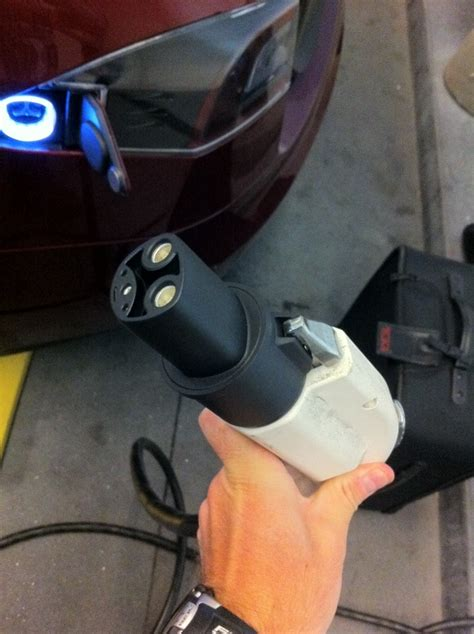Tesla To J1772 Adapter Will A Tesla Brand 80 Charger Fry My Karma Battery