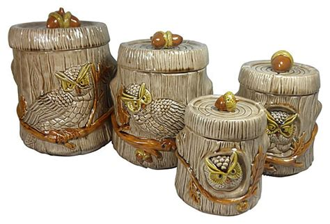 owl canisters for the kitchen 2018 80 best images about owl kitchen on vintage owl canister sets and salts