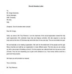 Church Donation Request Letter Exle Donation Letter Template 26 Free Word Pdf Documents Free Premium Templates