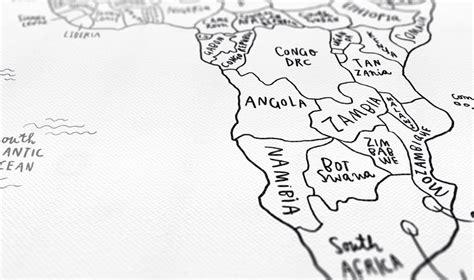 sketch map maker sketch map typography design world map