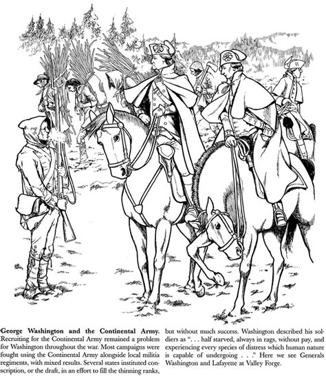 revolutionary war free coloring pages