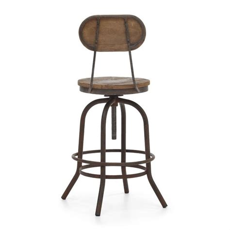 distressed bar chairs zuo era 24 quot 31 quot peaks counter stool in 98182