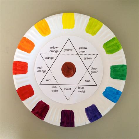 high school lesson plans color wheel color wheel projects for with color