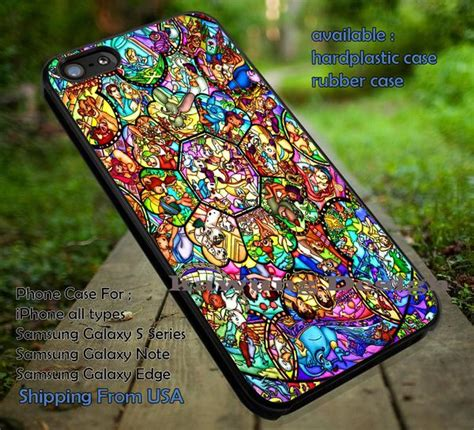Snow White Stained Glass Casing Samsung Caseiphone 7 6s Plus 5s 5c 4s the silhouette princess ariel iphone 6s 6 6s 5c 5s cases samsung gala k designs