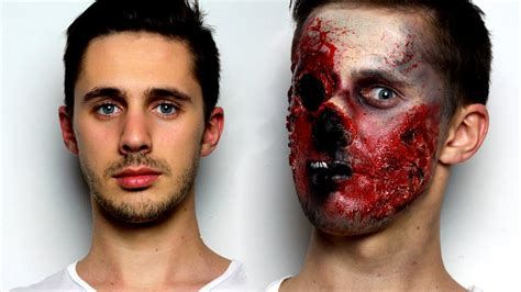 makeup tutorial trucco halloween zombie youtube zombie makeup tutorial for halloween youtube