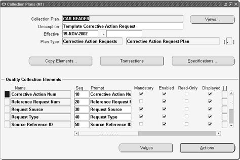 Oracle Manufacturing Implementing Oracle E Records In Discrete Manufacturing Guide Corrective Request Template