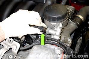 bmw e90 engine temperature sensor replacement e91 e92