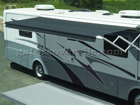 motorized rv awning eclipse 12v motorized rv awnings blue gator covers 239