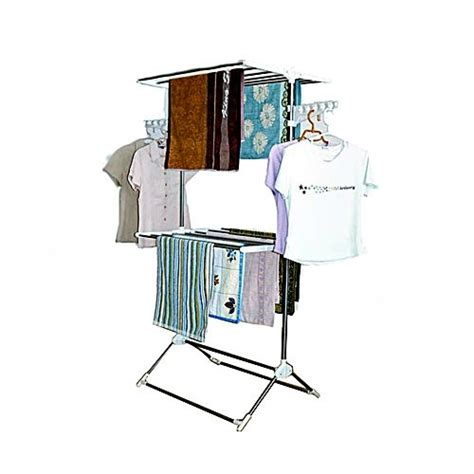 leostar layer clothes rack and stand drying hanger