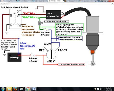 fuel shut solenoid wiring diagram stop solenoid diesel
