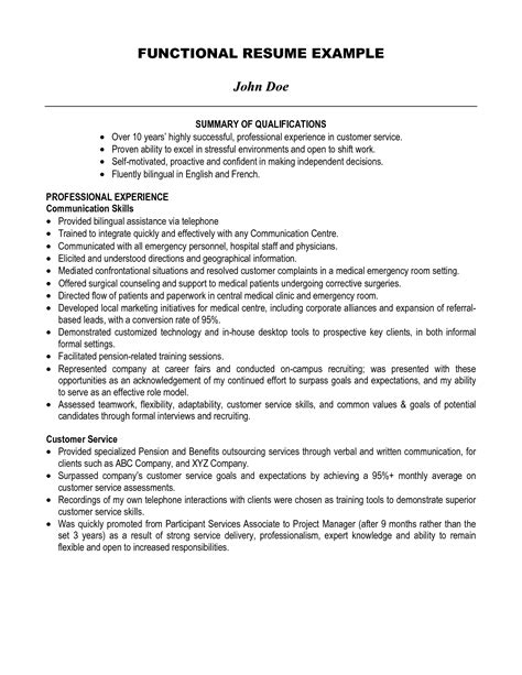 resume wording for customer service summary examples manager servers