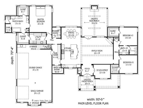 bhg floor plans 1st floor plan image of featured house plan bhg 1980