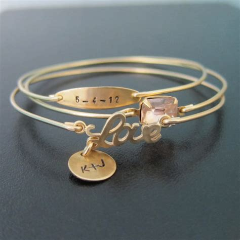 personalized engraved jewelry personalized wedding jewelry personalized by frostedwillow on etsy