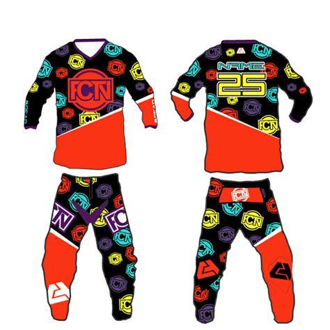 motocross gear set fctn quot fresh quot motocross gear set custom apparel inc