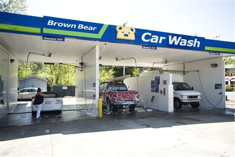 car wash brown bear car wash seattle a list