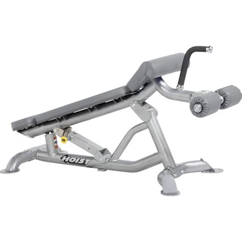 hoist bench hoist cf 3162 adjustable flat decline bench fitness