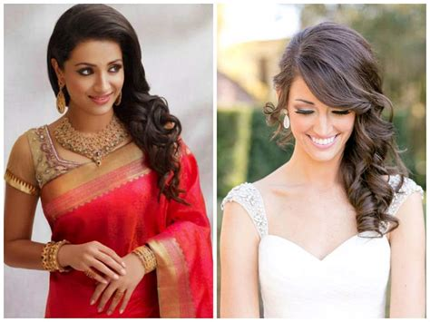 Wedding Hairstyles For Medium Length Hair Indian by Indian Wedding Hairstyles For Medium Length Hair To Adorn