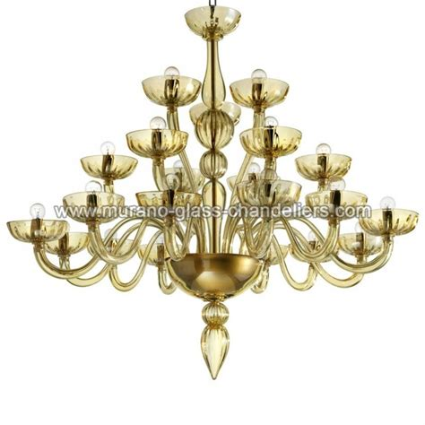 Murano Glass Chandelier Quot Karma Quot 21 Lights Murano Glass Chandelier