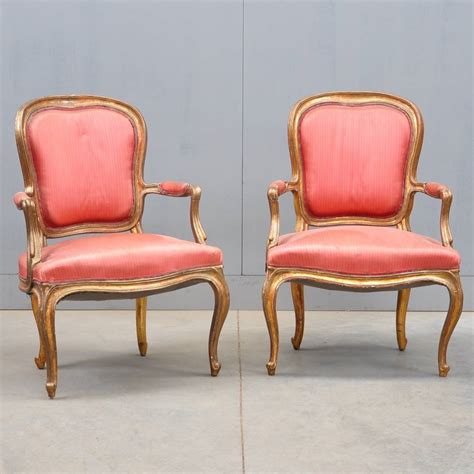 Louis Furniture by Pair Of Louis Xv Armchairs De Grande Antique Furniture