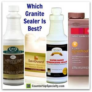 which granite sealer to use