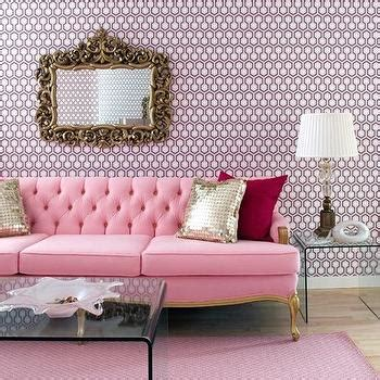 pink tufted sofa pink sofa design ideas