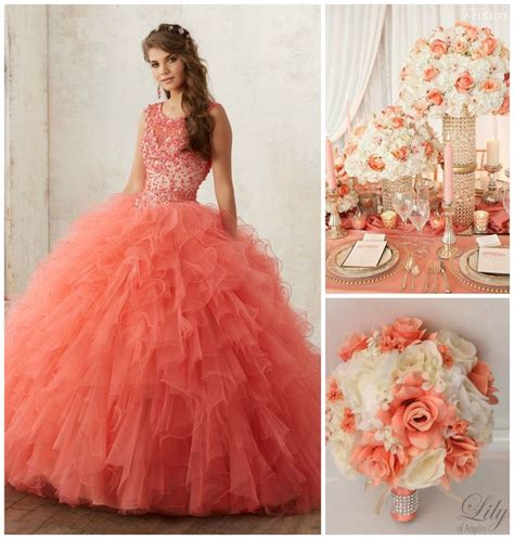 quinceanera themes ideas coral 499 best quinceanera themes images on pinterest