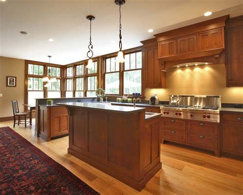 mission style kitchen hardware beautiful cherry cabinets trend new york craftsman kitchen
