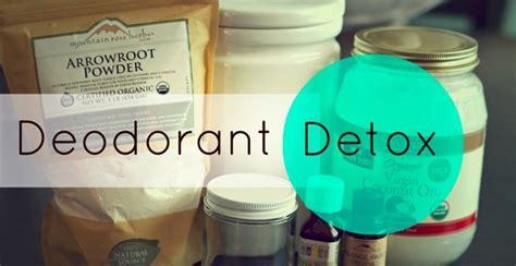How Does It Take To Detox From Deodorant by Whole Home Detox Deodorant