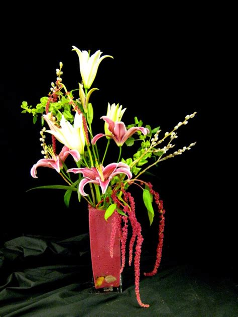 Floral Centerpieces Christmas - high style ikebana floral designs by kristie