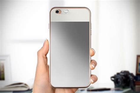 Lighted Iphone Case Lighted Mirror Iphone Case Not Only Has A Mirror Stuck To