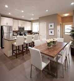 Open Dining Room Design Ideas Open Plan Kitchen Transitional Dining Room