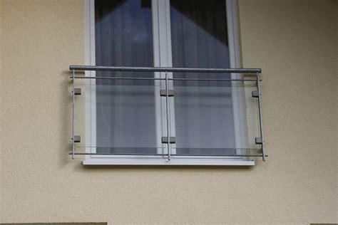 französischer balkon glas metallbau geiss